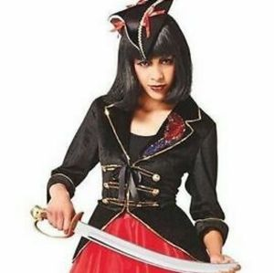 Women's Pirate Captain Costume